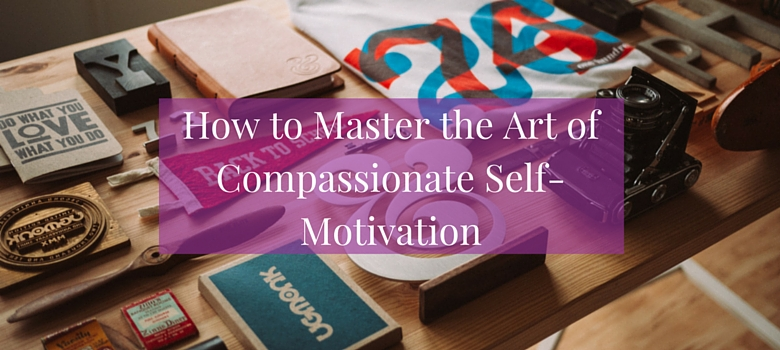Do you struggle to motivate yourself without resorting to self-criticism? This post is about how to master the art of compassionate self-motivation. Click the image to read more >>> | www.becomingwhoyouare.net